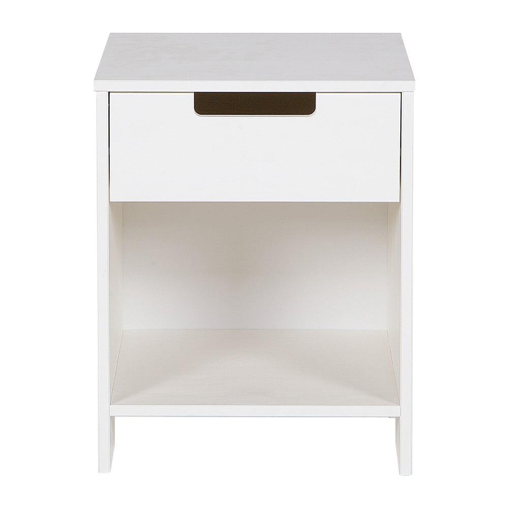 Bílý noční stolek De Eekhoorn Jade