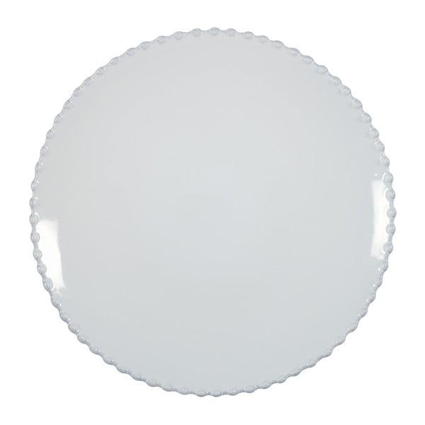 Farfurie din gresie ceramică Costa Nova Pearl, ⌀ 28 cm, alb