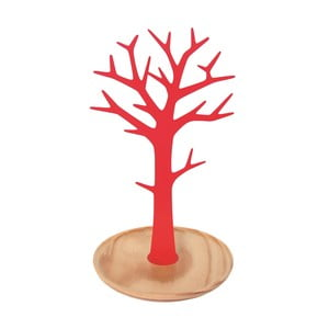 Stojan na šperky Tree Red