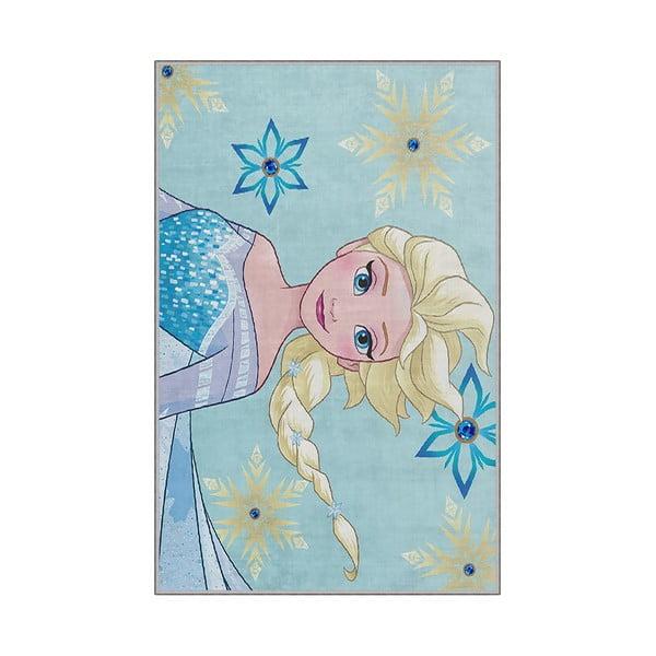 Dziecięcy dywan antypoślizgowy Homefesto Frozen, 80x150 cm