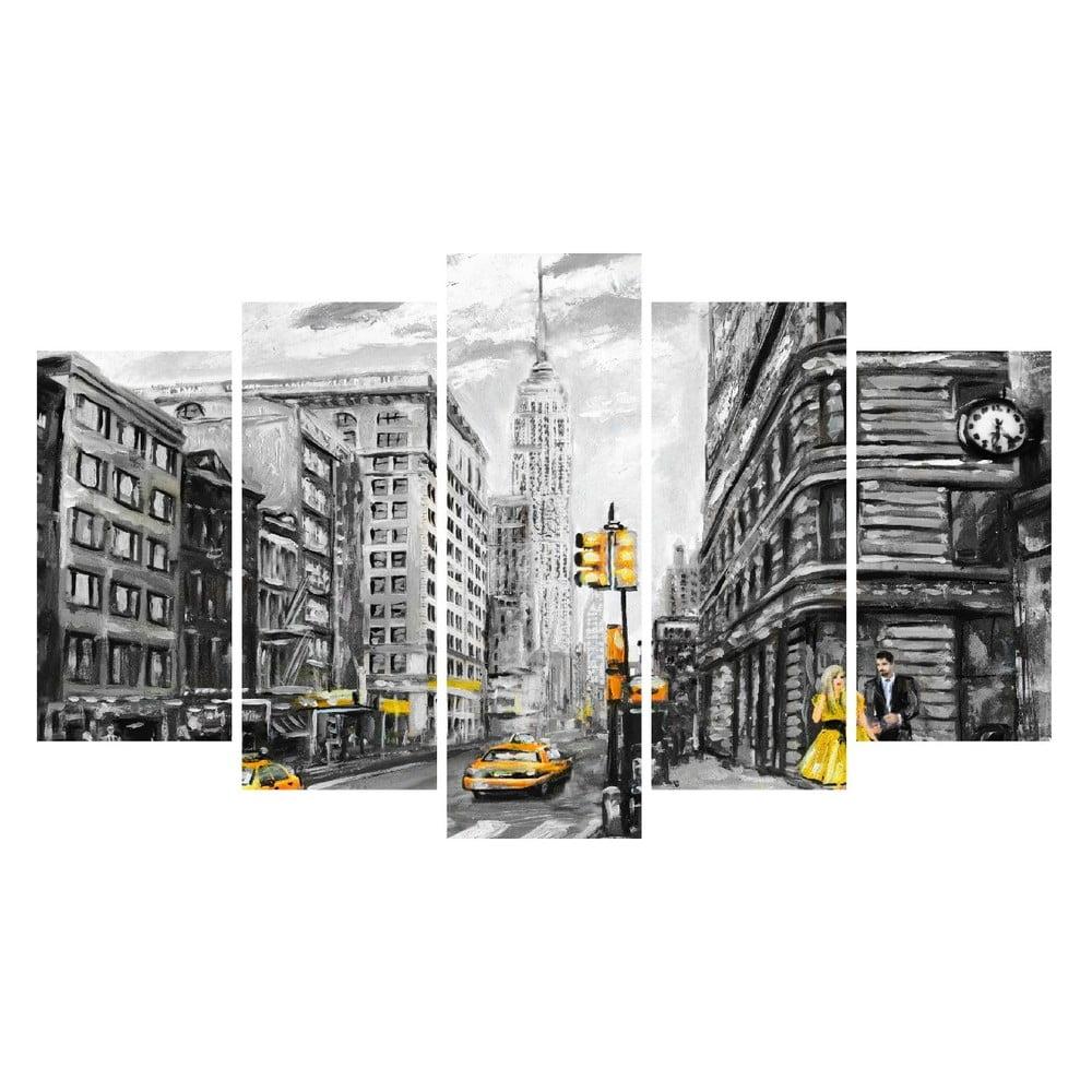 Vícedílný obraz na plátně New York Canvas