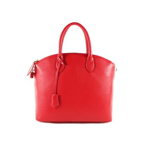 Červená kabelka z pravé kůže GIANRO' Tutu