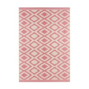 Růžovošedý koberec vhodný i na ven Bougari Kalora, 140x200cm