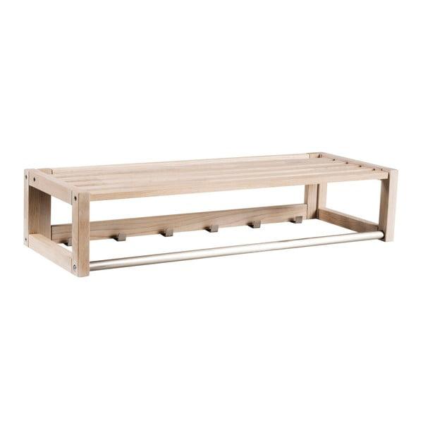 Cuier mat din lemn de stejar Rowico Ull