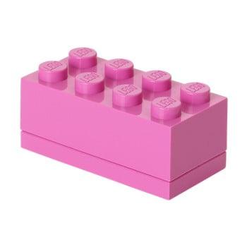 Cutie depozitare LEGO® Mini Box, roz de la LEGO®
