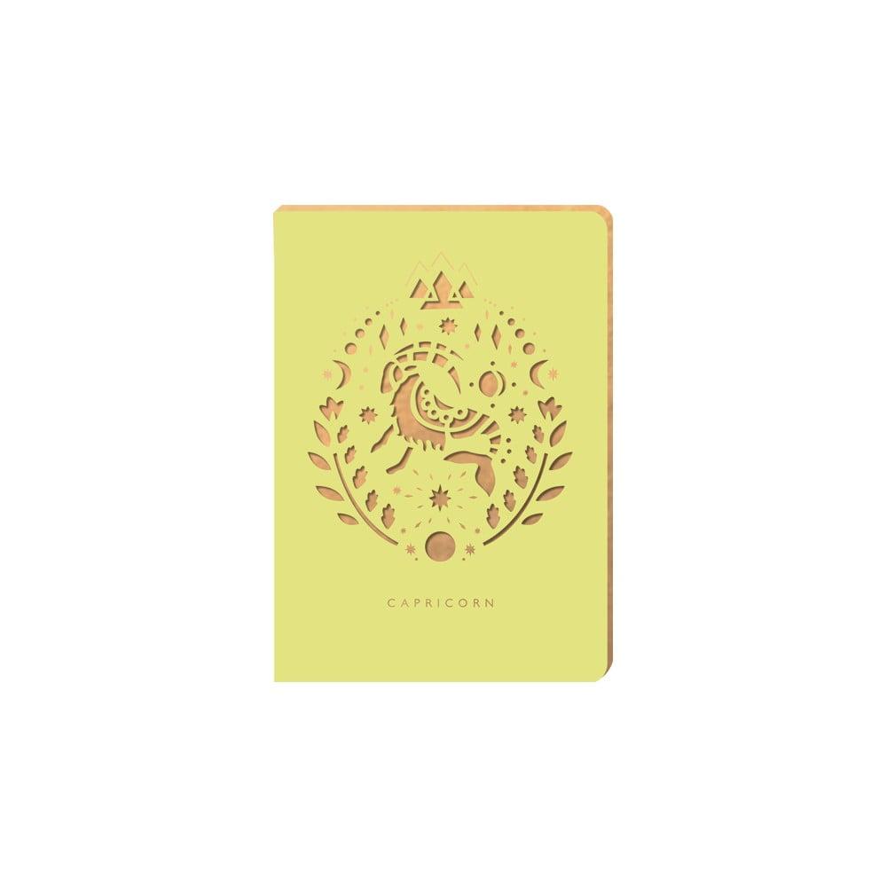 Linkovaný zápisník Portico Designs Kozoroh, 124 stránek