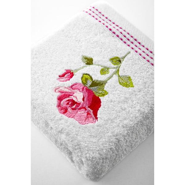 Osuška Pink Rose, 50x90 cm