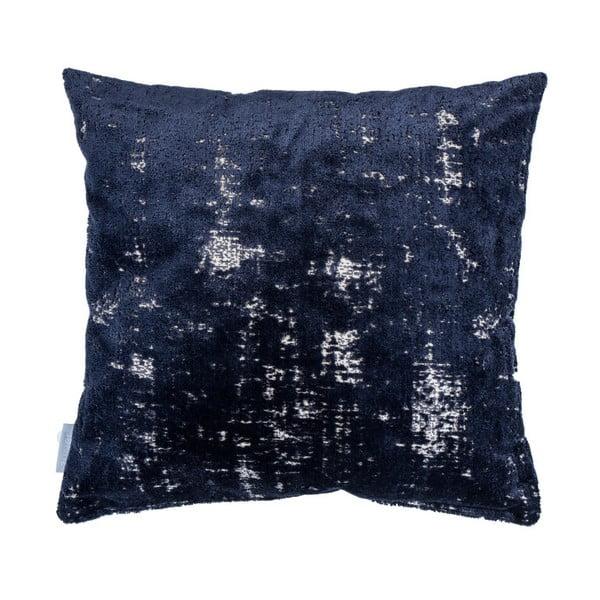 Pernă cu umplutură Zuiver Sarona Vintage, 45 x 45 cm, albastru închis