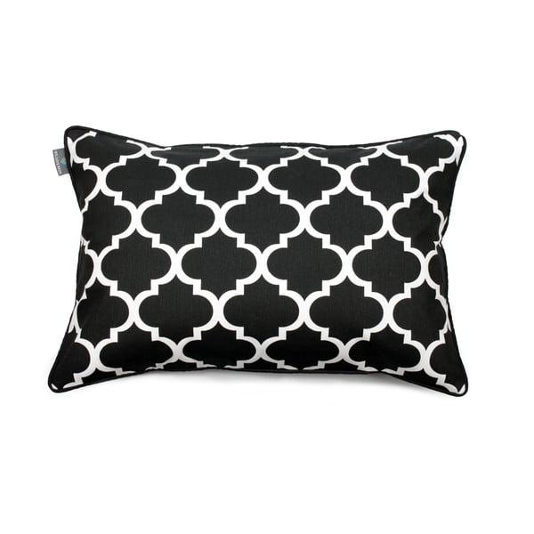 Czarno-biała poszewka na poduszkę WeLoveBeds Clover, 40x60cm