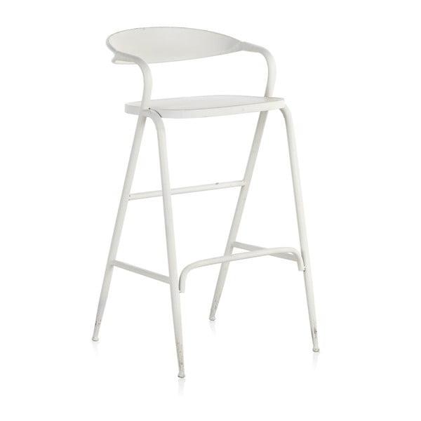 Bílá kovová stolička Geese Industrial Style