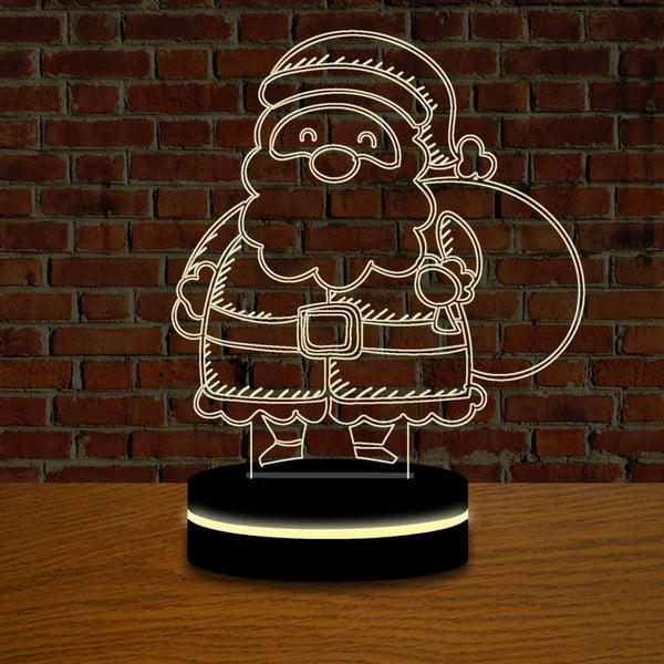 Lampa s 3D efektem Christmas no. 11