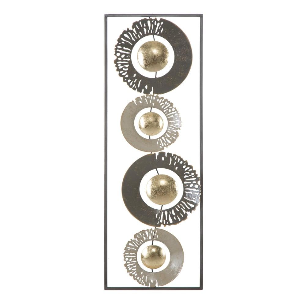 Nástěnná kovová dekorace Mauro Ferretti Ring, 31x89,5cm