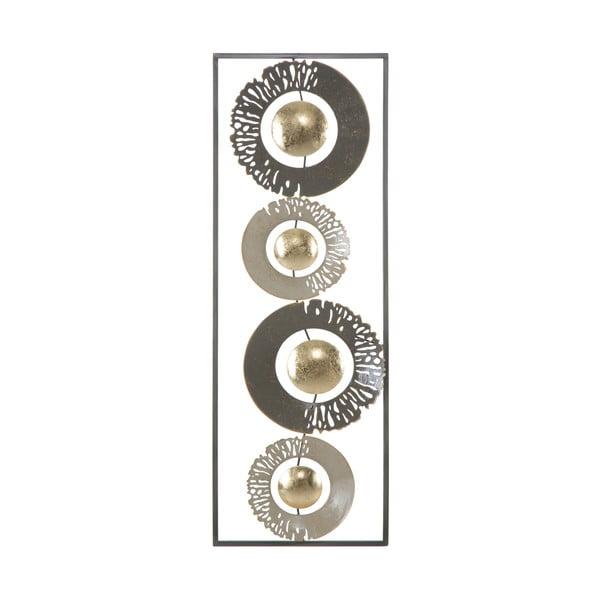 Ring fém fali dekoráció, 31 x 89,5 cm - Mauro Ferretti