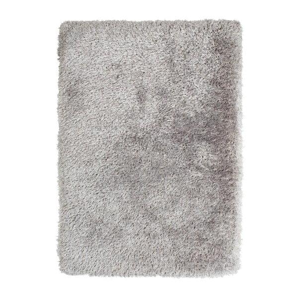 Šedý ručně tuftovaný koberec Think Rugs Montana Puro Silver, 80 x 150 cm