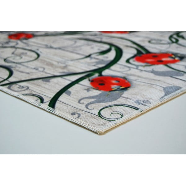 Odolný koberec Vitaus Fleur,50x80cm