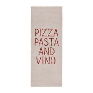 Béžový kuchyňský běhoun Zala Living  Soho Pizza, 80x200 cm