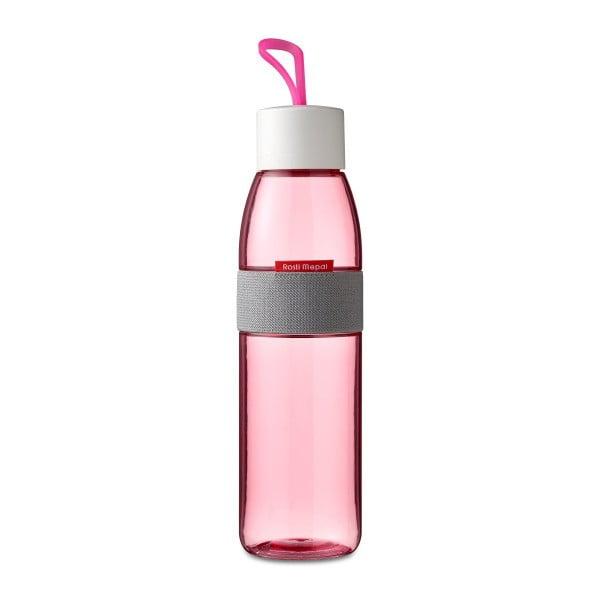 Sticlă pentru apă Rosti Mepal Ellipse, 500 ml, fucsia