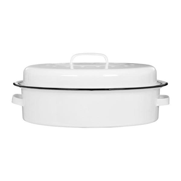 Formă de copt smălțuită Premier Housewares, alb