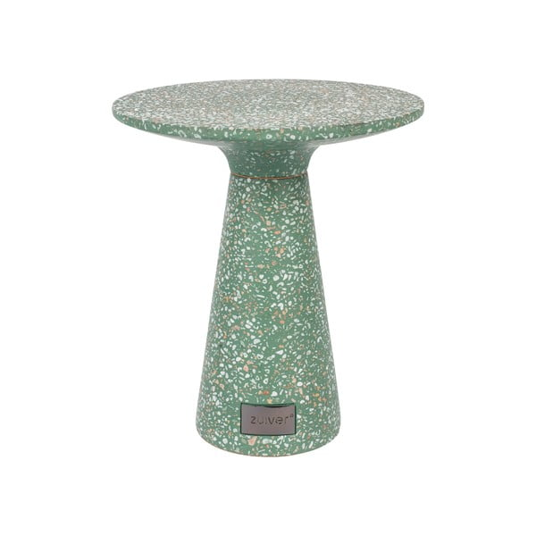 Zelený odkládací stolek vhodný do exteriéru Zuiver Victoria, ø 41 cm