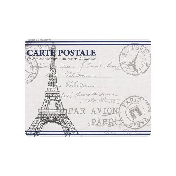 Sada 4 prostírání Paris Stamp