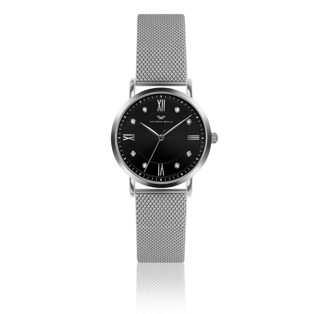 Dámské hodinky s páskem z nerezové oceli ve stříbrné barvě Victoria Walls Kelly