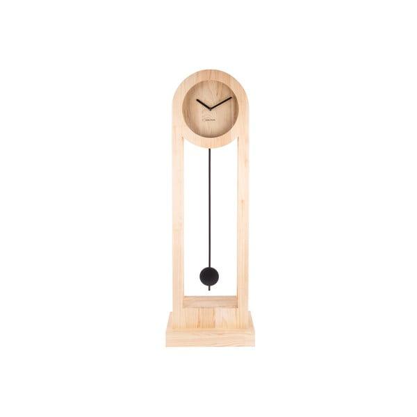 Stojací dřevěné hodiny Karlsson Lena, výška100cm