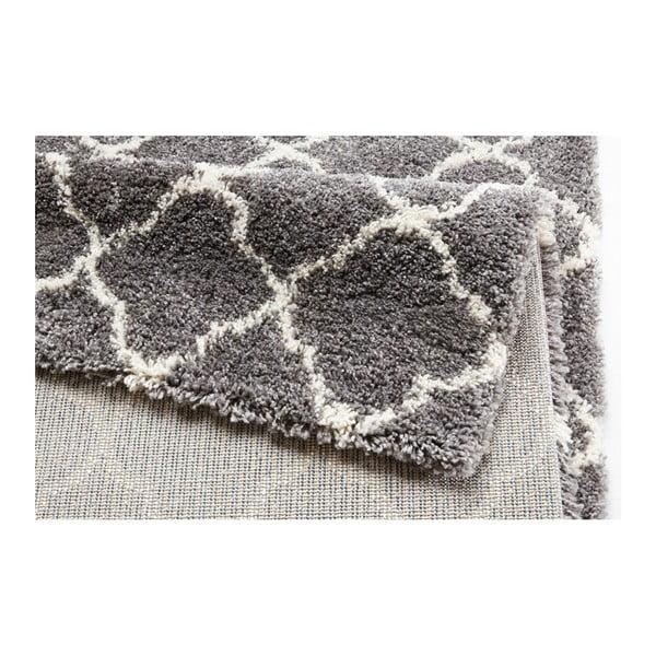 Šedo-bílý koberec Mint Rugs Grace Grey Creme, 160x230cm