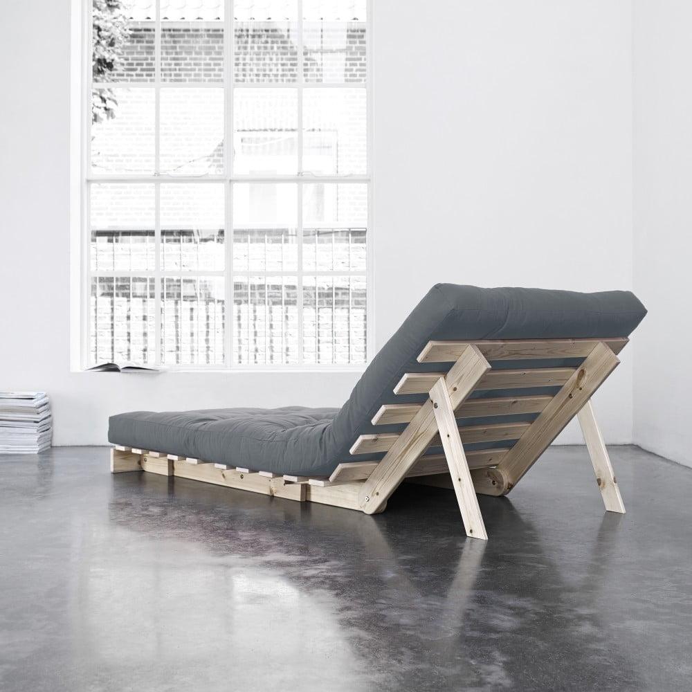 Fotoliu extensibil karup roots raw gris bonami for Cuanto sale un sofa cama
