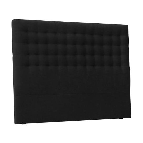 Černé čelo postele Windsor & Co Sofas Nova, 180 x 120 cm