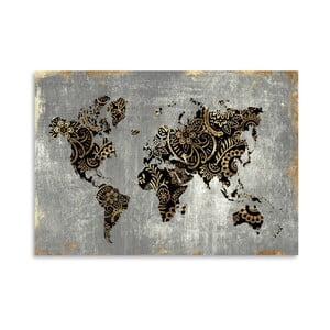 Plakát Americanflat Aurum World, 42 x 30 cm