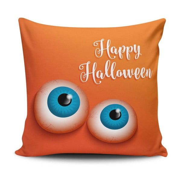 Polštář s příměsí bavlny Cushion Love Orangino, 45 x 45 cm