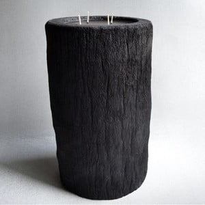 Palmová svíčka Legno Bruciato s vůní vodního květu, 80 hodin hoření