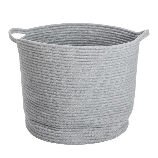 Koš Cotton Grey, 40x38 cm