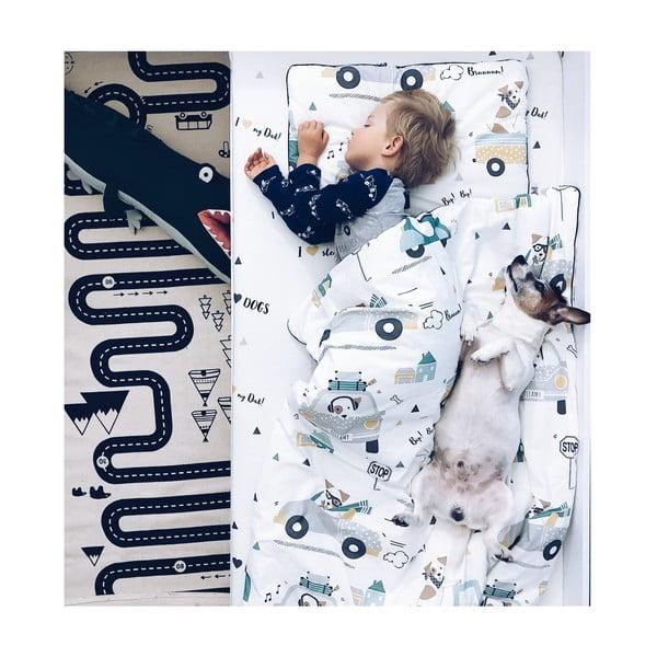 Set dětské bavlněné přikrývky s polštářem BELLAMY Jackie, 140x200cm
