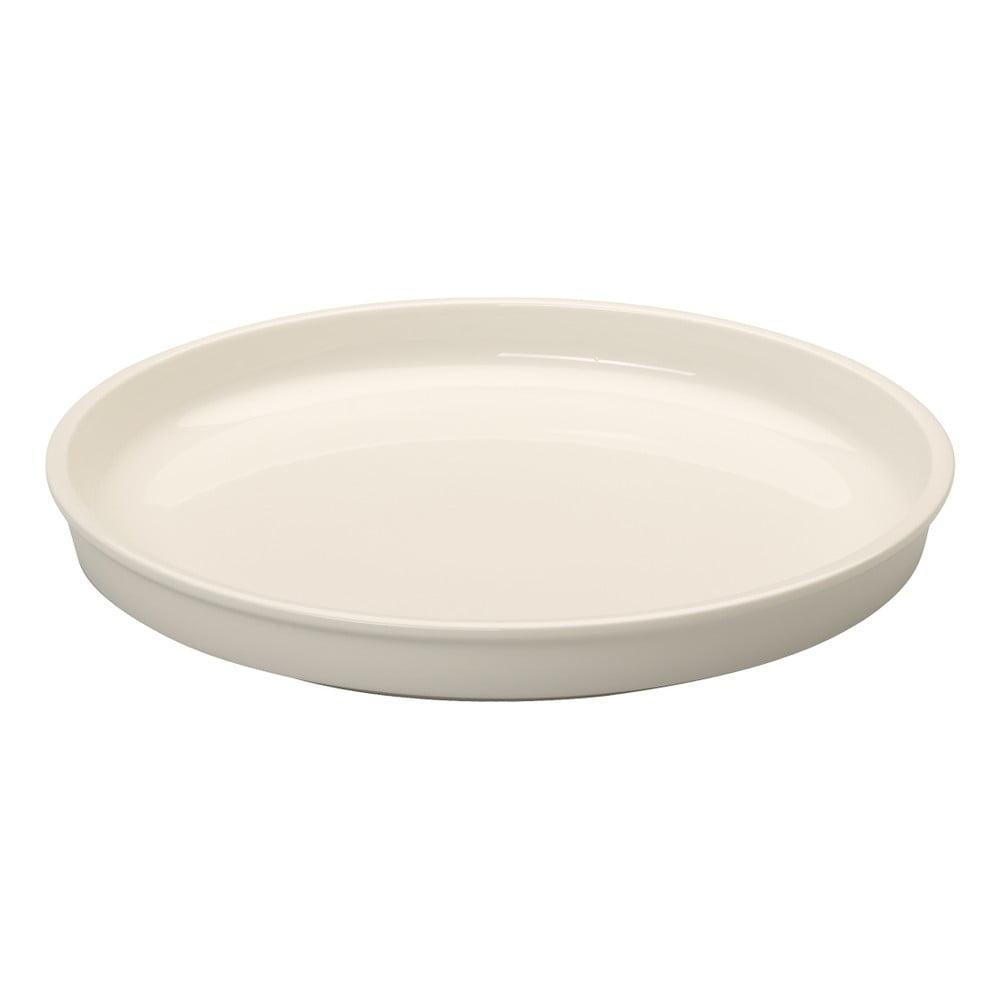 Bílý porcelánový servírovací tác Villeroy & Boch Clever Cooking, 26 cm
