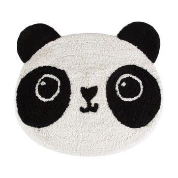 Covor din bumbac pentru camera copiilor Sass & Belle Kawaii Panda, 63 x 55 cm de la Sass & Belle