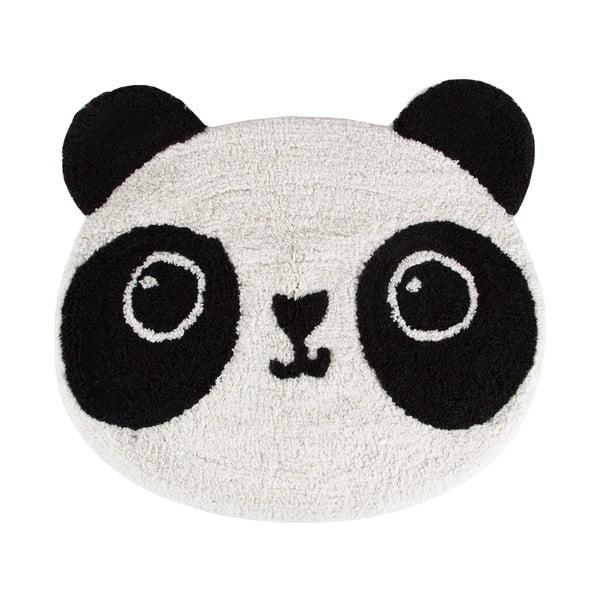 Bavlněný dětský koberec Sass & Belle Kawaii Panda, 63x55cm