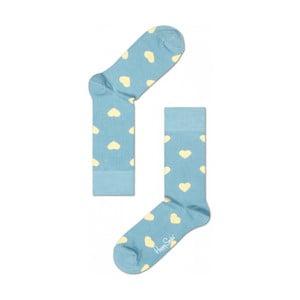 Ponožky Happy Socks Blue Hearts, vel. 36-40