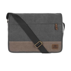 Pánská taška Uxbridge Black Canvas Bag