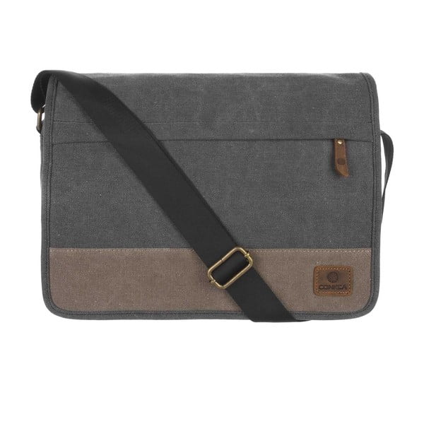 Pánská taška Uxbridge Black Canvas Bag