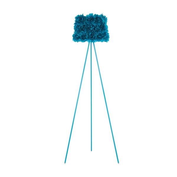 Stojací lampa Bloom Floor, modrá
