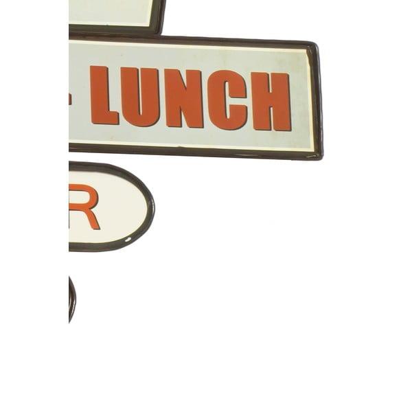 Nástěnná cedule Reclame Restaurant