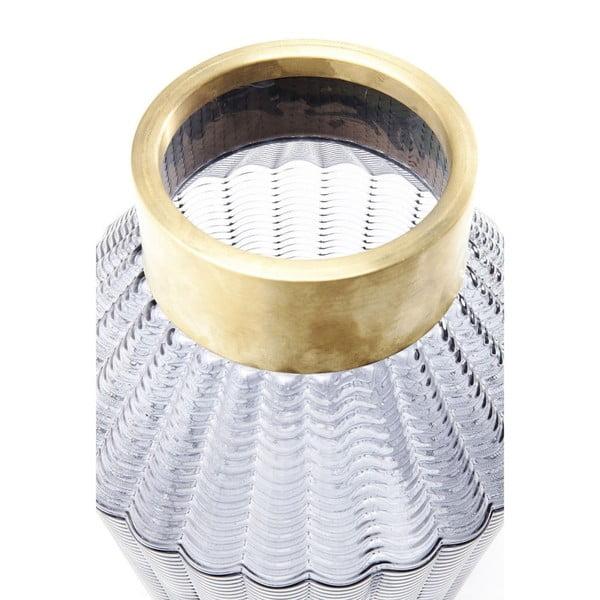 Vază Kare Design Barfly Grey, 30 cm, gri deschis