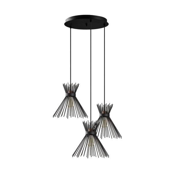 Kirpi fekete függőlámpa - Opviq lights
