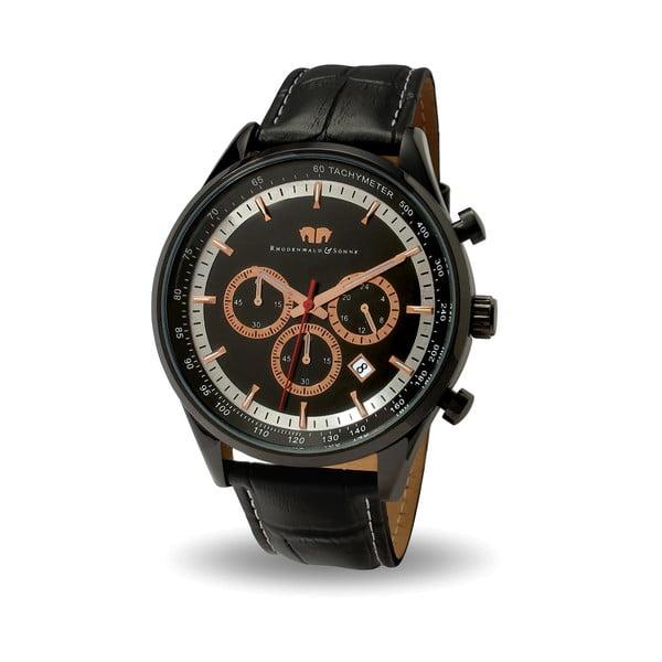 Pánské hodinky Rhodenwald&Söhne Eastwood Black/Redgold