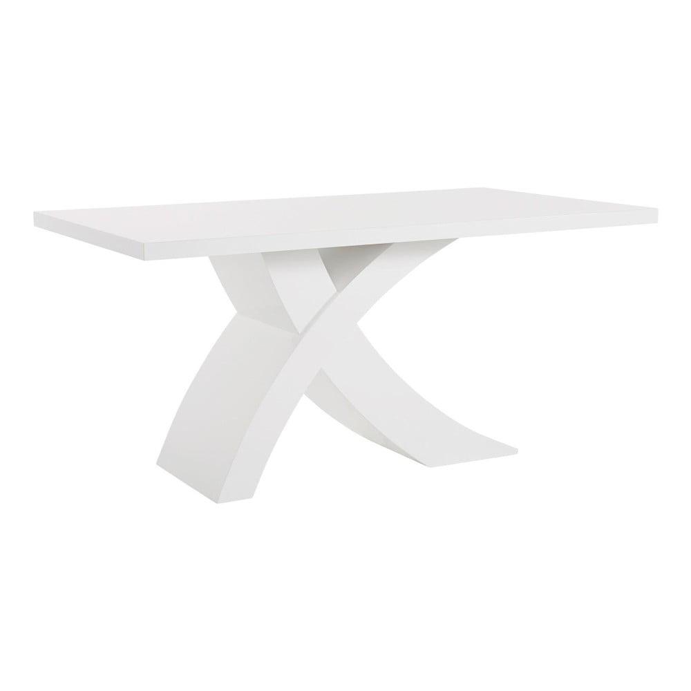 Bílý stůl ve vysokém lesku Støraa Griffin