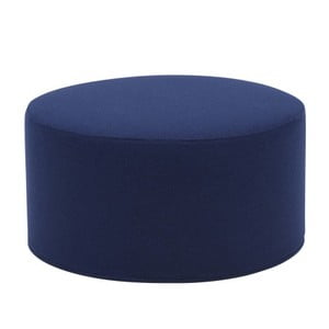 Tmavě modrý velký puf Softline Drum Large