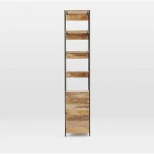 Knihovna z masivního mangového dřeva Massive Home Jenny, šířka 45 cm