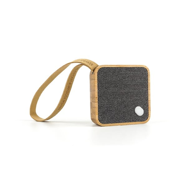 Bluetooth reproduktor Gingko Square Bamboo