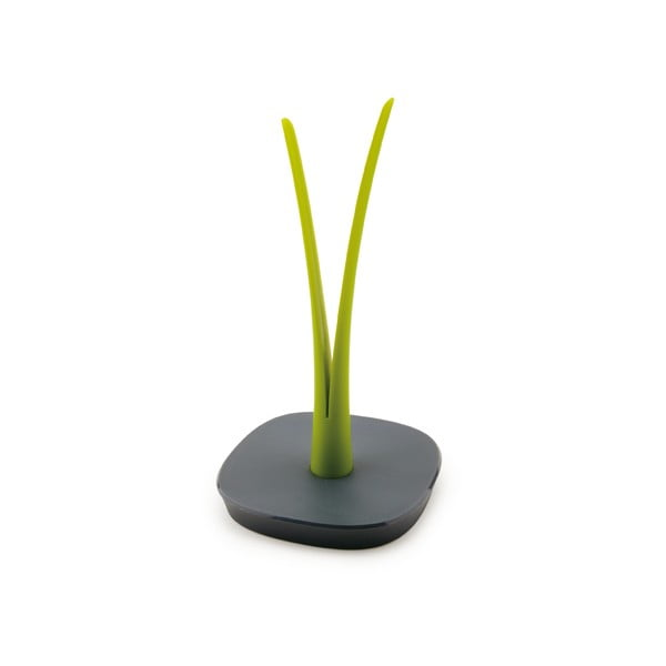 Zelenošedý stojan na papírové kuchyňské ubrousky Vialli Design Livio